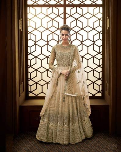 Adorable Wedding Wear Butterfly Net with Embroidery Anarkali Suit
