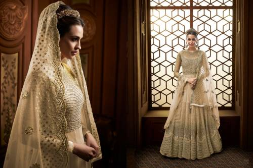 Adorable Wedding wear Heavy Butterfly Net with Embroidery Anarkali Suit