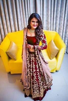 Smart Maroon Tapeta Silk With Embroidered Party Wear Lehenga Choli